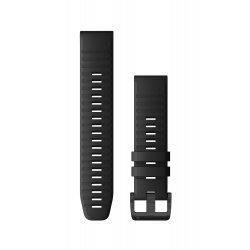 Garmin curea silicon QuickFit 22 - negru