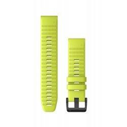 Garmin curea silicon QuickFit 22 - galben fluo