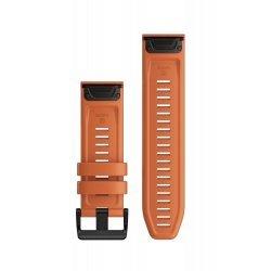 Garmin curea silicon QuickFit 26 - portocaliu ember