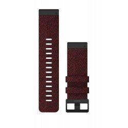 Garmin curea nailon QuickFit 26 negru-rosu