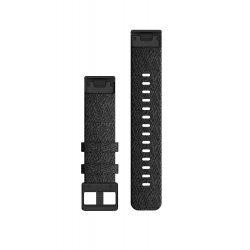 Garmin curea nailon - QuickFit 20 - neagra - negru