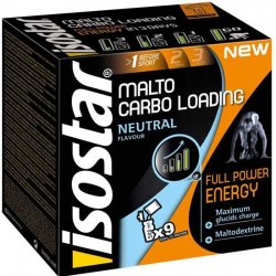 Malto Carbo Loading Neutral 9x50g Isostar