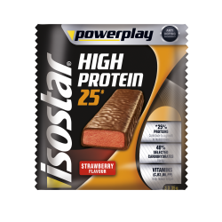 Powerplay High Protein Bar Strawberry 3x35g Isostar