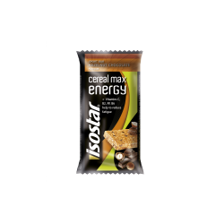 Cereal Max Energy Bar Hazelnut Chocolate 55g Isostar