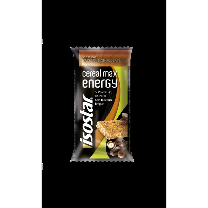 Cereal Max Energy Bar Hazelnut Chocolate 55g Isostar