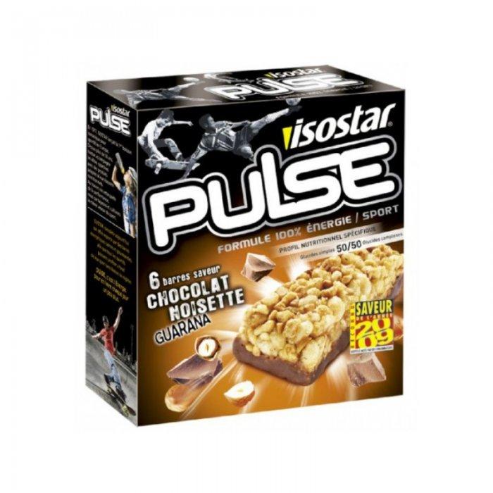 Pulse Energy Bar Guarana 6x23g Isostar